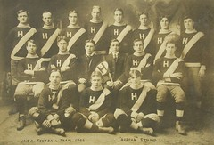 "1906 Real Photo ""Robson Studio"" Postcard - Horton Collegiate Academy 1906 Football Team Photo at Wolfville, Nova Scotia (Baseball Autographs Football Coins) Tags: beta football rugby canada wolfville novascotia acadia university horton hortoncollegiateacademy college"