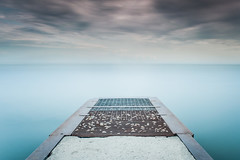 Sleep with the fishes under the sea~ (Ernie Kwong Photography) Tags: seascape fated lakeontario lake beach thebeaches torontonist toronto moody landscape landscapephotography waterscape storm clouds piers emptiness longexposure poselongue singhray bigleestopper biglee leefilters le reversegnd