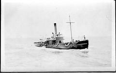 Pilot boat 'Waratah' (UON Library,University of Newcastle, Australia) Tags: stockton stocktonhistory maritime shipping newcastlehistory waratah newsouthwales australia