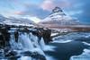 Kirkjufell (Marco Calandra Photography) Tags: iceland kirkjufell kirkjufellfoss longexposure morning snow water waterfall winter islanda is mountain haida