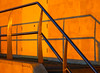 BRYAN_20161120_IMG_0044 (stephenbryan825) Tags: albertdock liverpool museumofliverpool pierhead blue dusk handrail lowlight orange selects shadows sunset vivid