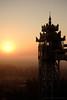 Mawlamyine - Myanmar 2016-2017 (- yt -) Tags: fujifilm kyaikthanlanpagoda mawlamyine myanmar southeastasia travel xf35mmf14r yusuketsutsuiphotography elevator sunrise tower xe1xseries xshooter