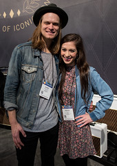 Shane Henry & Maggie McClure at NAMM 2017 #2 (jus10h) Tags: maggiemcclure shanehenry winter namm show 2017 anaheim marriott stage live concert gig showcase performance artist singer songwriter orangecounty losangeles oc la nikon d610 photography justinhiguchi