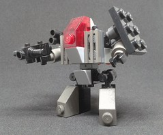 ST-01 Classic - First Armed Fleet Colors (Vitor O S Faria) Tags: mf0 mfz lego mecha mech mobileframezero mobileframe