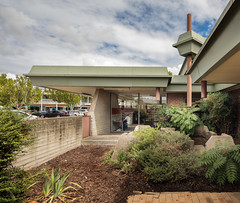 Dickson Library (Chimay Bleue) Tags: enrico taglietti architecture modernism design midcentury concrete brutalism brutalist wright prairie canberra australia