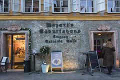 Shopping and Eating to honour Mozart ;) (lunaryuna) Tags: salzburg austria mozart birthhouse shoptillyoudrop hotel tourism urban city homourbe thoughtsaboutourtime lunaryuna