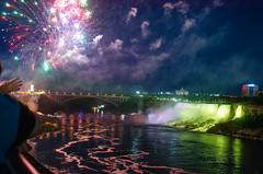 jlorio_niagara fallscityscape046 (jtleagles) Tags: fireworks niagarafalls canada ontario niagarariver dusk twilight celebration americanfalls rainbowbridge jtleagles nikond7000 jonathanlorio