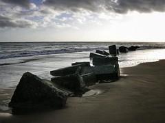 Beach defences