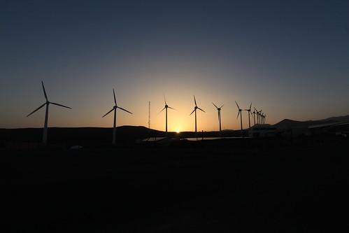 El parque eolico