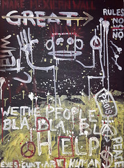 State of mind (The Art of YorkBerlin) Tags: stateofmind neo expressionismus acrylicpunk painting mexicanwall york 2017 artwork art