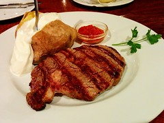 Ribeye Steak (hhschueller) Tags: duesseldorf düsseldorf germany duitsland deutschland food ドイツ デュッセルドルフ