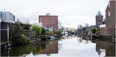 Reitdiep in de Schilderswijk in Groningen (ottolien) Tags: groningen reitdiep schilderswijk
