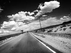 Highway 247 towards yucca valley (marcelbritten) Tags: blackandwhite blackandwhitephotography yucca valley yuccavalley desert californiandesert ontheroad goprohero3plus highway247 ontheroadagain