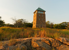 Perkins Memorial Tower (Firoz Ansari) Tags: sunset ny newyork tower rock evening bearmountain perkins perkinsmemorial