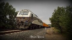 """Tren Azul """"Expreso Canfranc"""" (II) (lvaro Garca Moreno) Tags: renfe sabinigo 3334 ciwl 333407 azaft trenazul"""