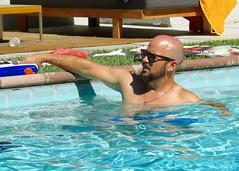 IMG_0243 (danimaniacs) Tags: shirtless man hot sexy guy beard bald hunk scruff mansolo