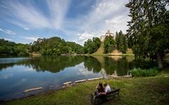 lake & castle - Trakošćan (13) (Vlado Ferenčić) Tags: castles lakes croatia hrvatska hrvatskozagorje zagorje nikond600 castletrakošćan laketrakošćan castleschurches sigma12244556 lakescasstles