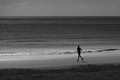 Beach running (David Fullwood) Tags: ireland beach runner jogger curracloe