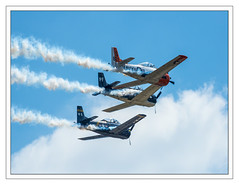 Trojan Horsemen T-28-Vintage Aircraft (Crested Aperture Photography) Tags: airplane andrews aircraft aviation navy airshow airforce usnavy trojanhorsemen andrewsjointservicesopenhouse2015
