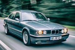 BMW ///M5 - E34 - Dynamik 2 (Sascha Gaber) Tags: auto bw 1 nikon bmw ez sw d200 1994 m5 zeche ewald e34 1870 youngtimer automobil dynamik herten