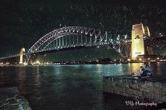Sydney Harbour Bridge at Night (Victor Ye) Tags: top20bridges