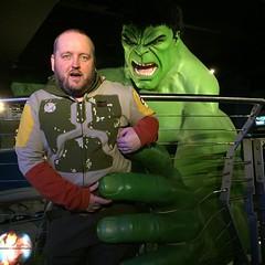 Photo of Caught by the Hulk! #marvel #hulk #fanboy #tussauds