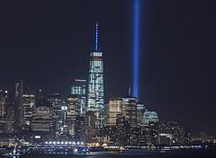 911 2015 (ReadyAimClick) Tags: new york city nyc newyorkcity longexposure lights memorial nightshot rip worldtradecenter 911 wtc beams lowermanhattan 911memorial inmemoryof beamsoflight bigcitylights nycatnight cityscapephotography nyccityscape 911tributelights nyc2015 9112015 nycstrong