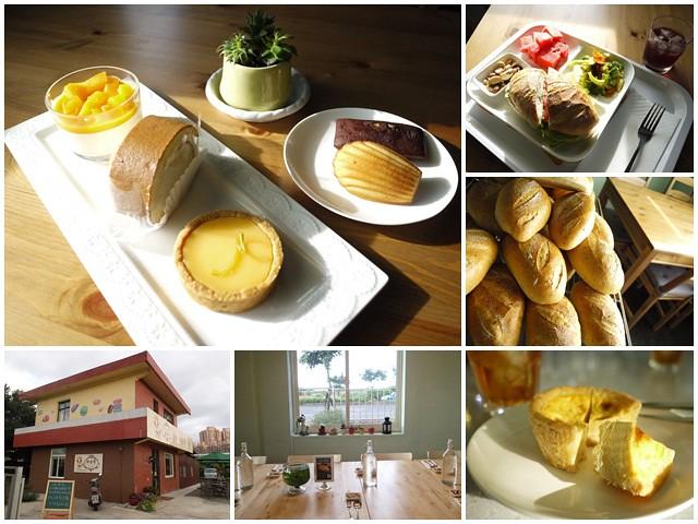 三芝美食吐司手工麵包下午茶Megumi甜蜜屋蛋糕可麗露page
