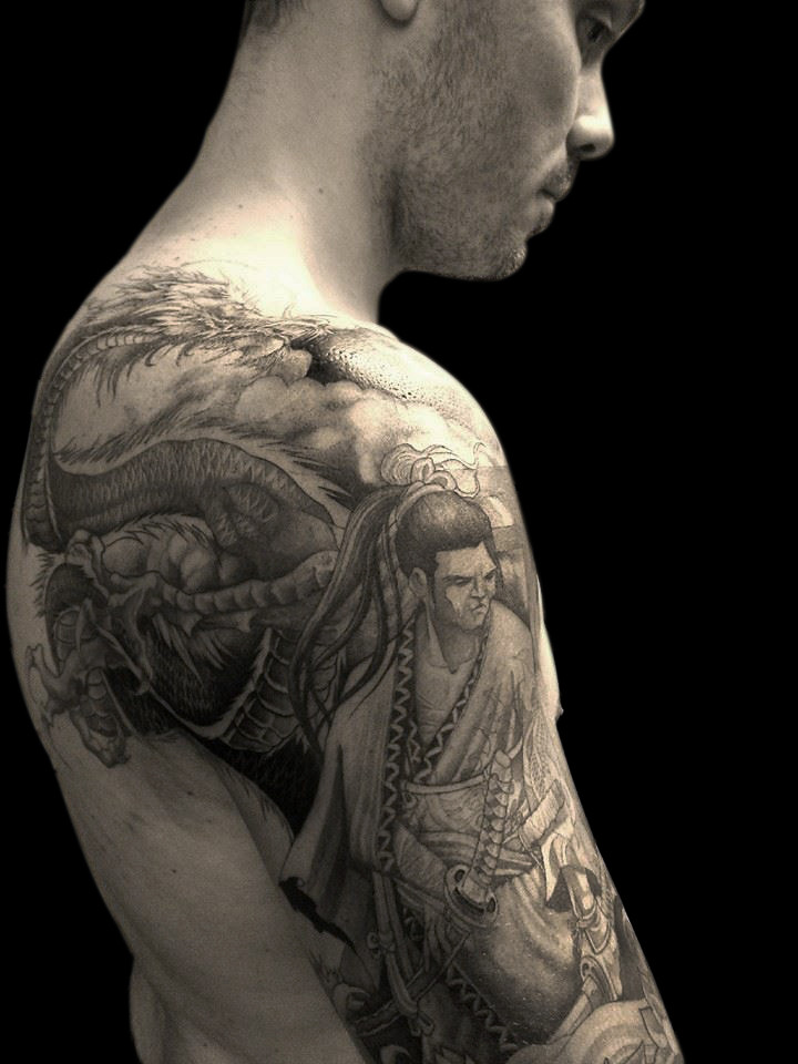 The World S Most Recently Posted Photos Of Irezumi And Tatouage