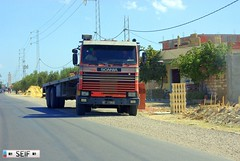 Scania / STIA 113H 310 Tunisia 2015 (seifracing) Tags: rescue truck volkswagen traffic fiat tunisia taxi tunis transport police pickup voiture vehicles national vans trucks van 404 peugeot 310 spotting recovery tunisie scania tunisian tunesien 2015 stia 113h seifracing