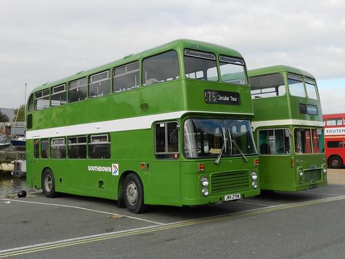 JWV275W 275 Southdown Bristol VRT