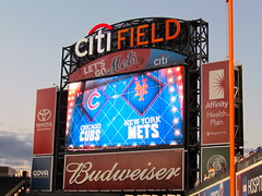 NLCS Hype (quiggyt4) Tags: nyc newyorkcity newyork apple electric this baseball atmosphere queens ballgame hype playoffs cubs wrigleyfield wrigley donaldtrump tbs trump mets rizzo chicagocubs pitching bullpen pregame dustybaker newyorkmets flushing homers pedromartinez ronpaul nlcs mattharvey arrieta amazin ows occupy jonlester danielmurphy mlbplayoffs citifield jakearrieta anthonyrizzo occupywallstreet kyleschwarber wearegood