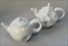 3D-printed teapots (FlickrDelusions) Tags: ceramics trent stokeontrent british stoke biennial 2015 spode britishceramicsbiennial bcb2015