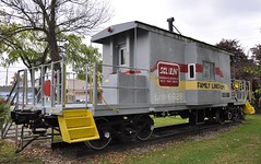 Lebanon Junction, Kentucky (3 of 6) (Bob McGilvray Jr.) Tags: park railroad public train display kentucky ky steel tracks caboose transfer ln seaboardcoastline louisvillenashville lebanonjunction familylinessystem