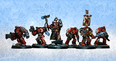 Squad Alphaeus (Duca Strige) Tags: infantry angel blood 40k warhammer terminator alphaeus deathstorm