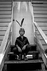 Murut tribe boy (Mohd Rizal Lakim) Tags: people blackandwhite fuji portraiture borneo fujifilm potrait sabah nabawan murut northborneo muruttribe fujixt1