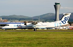 FlyBe - British European Bombardier DHC-8-402 Q400 G-ECOP (Mark 1991) Tags: edinburgh edi dash8 bombardier dehavilland britisheuropean flybe q400 edinburghairport dehavillandcanada dhc8 gecop