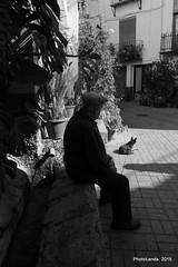 Hombre con perro (Landahlauts) Tags: blackandwhite bw dog man blancoynegro oldman stranger andalucia perro andalusia anciano sierranevada andalusien lanjaron hombre desconocido manantial andalusie balneario aguapotable andaluzia aguamineral  embotelladora andaluzja robandoalmas stealingsouls andaluzio biancoinero   caoneros    alpujarragranadina  comarcadelaalpujarra andalouzia andalusiya  fujifilmxpro1 fujifilmfujinonxf18mmf2 f allancharon