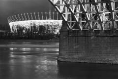 Under the bridge (Analog World Thru My Lenses) Tags: bridge warsaw warszawa rikenon50mmf14 ricohxr7 rolleirpx400