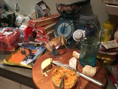 Chaos in the kitchen (Peter Branger) Tags: kitchen chaos activeassignmentweekly bestofweek1 bestofweek2 bestofweek3 bestofweek4 bestofweek5