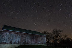 Stars & Barn (Phil Roeder) Tags: night barn stars iowa baldwin taborhome canon15mmf28