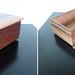 Textured cedar box