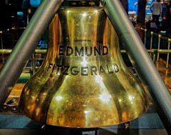 Bell Of The Edmund Fitzgerald (Great Lakes Shipwreck Museum) (Selector Jonathon Photography) Tags: bell michigan lakesuperior whitefishpoint edmundfitzgerald whitefishpointlightstation greatlakesshipwreckmuseum edmundfitzgeraldbell