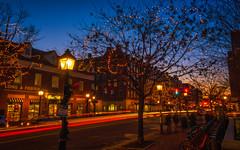 Holiday Sparkle in Old Town (Geoff Livingston) Tags: christmas alexandria lights virginia dc washington kingstreet oldtown kingst