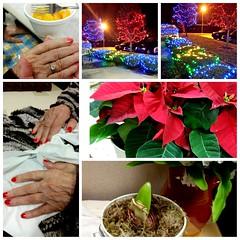 Evening with Mom - Advent, Dec 4, 2015 (Tatiana12) Tags: travel album 2015 christmasletter lifetravel garydeb