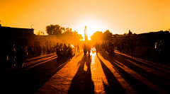 Marrakech Shadows (upenn97) Tags: street sunset people shadows sony busy arab marrakech a7 carlzeiss bussle hussle