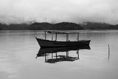 Boat, ponta da Pita (norton-dudeque) Tags: boat ponta da pita antonina parana brazil bw nikon d610