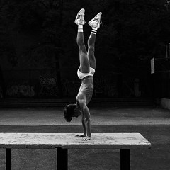 Equilibre (RIch-ART In PIXELS) Tags: blackandwhite monochrome sport ballet