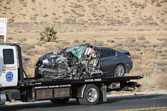 Fatal accident on Highway 395 (gabrieldespinoza) Tags: car accident victorville hesperia pedestrian news vvng victorvalleynews