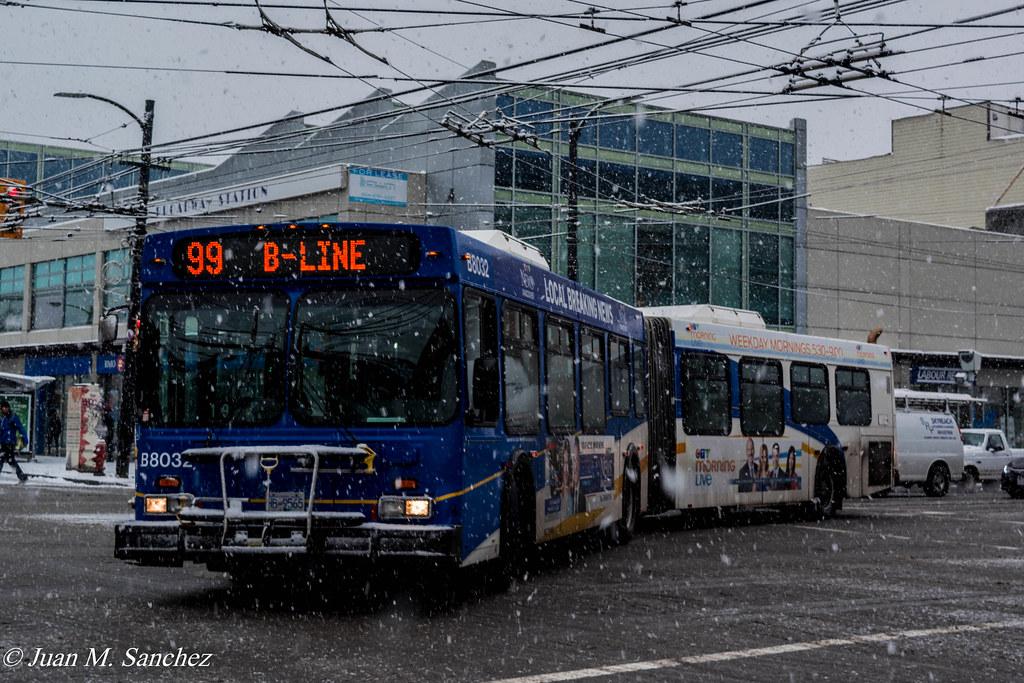 Sanchez Tags Translinkvancouvercmbcbus 99b 99 Bline New Flyer D60lf Daily